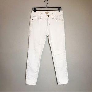 CAbi white skinny jeans